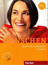 Hueber MENSCHEN B1 Kursbuch mit Lerner DVD-ROM Deutsch als Fremdsprache @NEW@