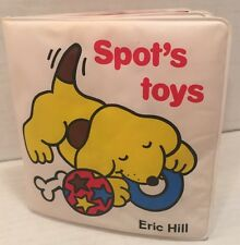 1984 Spot's Toys by Eric Hill Soft Book First American Edition