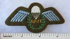 Cold War Vintage Post WW2 BRITISH AIRBORNE PARACHUTE INSTRUCTOR WINGS PATCH