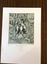 "HARRY JURGENS/ Germany , Ex Libris ,""Lady Caterley III"",  Erotic , Limited Ed."