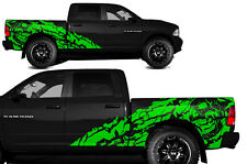 Vinyl Decal NIGHTMARE Wrap Kit for Dodge Ram 2009-2014 1500/2500 SHORTBOX Green
