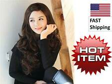 DARK BROWN - Sexy Oriental Style Full Wig - 25.5 inches LONG - FAST US Shipping