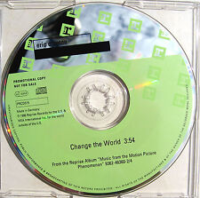 ERIC CLAPTON CD Change The World 1 Track UK (Euro) PROMO PRCD315  Mint