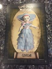 LIVING DEAD DOLLS RESURRECTION X GORIA POSTCARD #1-A NO STAMP FREE SHIPPING