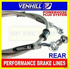 YAMAHA 1200 V-MAX 1985-04 VENHILL s/steel braided brake line rear CL