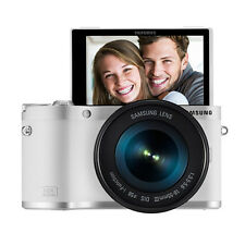 SAMSUNG NX300M Digital Smart Camera 18-55mm III OIS Lens Wi-Fi -White