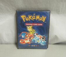 Pokemon Trading Card Game Carrying Case Book Wizards of the Coast 1999 Pikachu