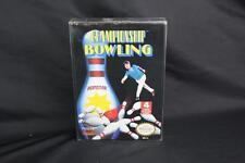 Championship Bowling (Nintendo NES 1989) Complete CIB - Free Shipping!