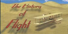 """The HISTORY of FLIGHT Small 4"""" by 2"""" inch MOTION FLIP Book New"""