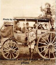 1800s Stagecoach Buffalo Bill Cody Wild West Show Hunter Indian Wars Scout Photo