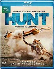 The Hunt (Blu-ray Disc, 2016, 2-Disc Set, BBC Earth, with Slipcover) NEW