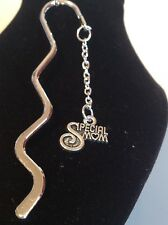 special mum book mark silver plated