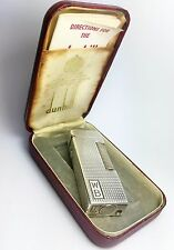 1965 Sterling Silver Dunhill Rollagas lighter, 100% working recently serviced