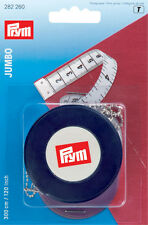 Prym Spring tape measure Jumbo cm/inch 3m 1pc