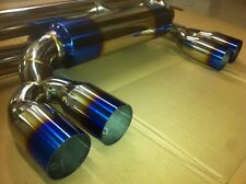 BMW E46 M3 Coupe & Cabrio Exhaust Cat Back Stainless steel Muffler