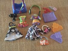 Littlest Pet Shop Blythe Doll Accessories Clothes Dresses Purses Combs W10