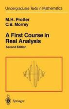 A First Course in Real Analysis, Edition: 2, Charles Morrey Jr., Good Book