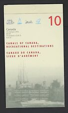 Canada 1998 Canadian Canals Booklet MNH  $4.50 UNOPENED