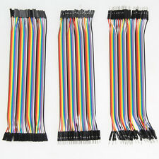 120pcs 20cm Dupont Wire M/M + Male to Female + Female to Female Jumper Cable
