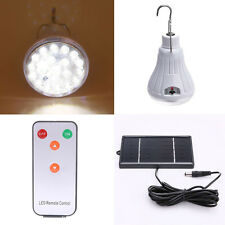 20LED Shed Solar Lamp Hooking Camp Garden Lighting Remote Control Outdoor/Indoor