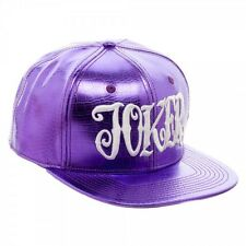 DC Suicide Squad Joker Purple Croc Snapback Hat - New Licensed