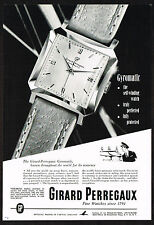 1950's Vintage Girard Perregaux Gyromatic Watch - Paper Photo Print AD c