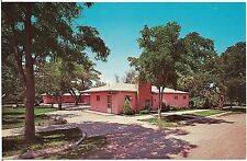 Lund's Motel in Spearfish SD Roadside Postcard