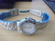 "TAG Heuer Women's ""Aquaracer"" Stainless Steel Dress Watch"