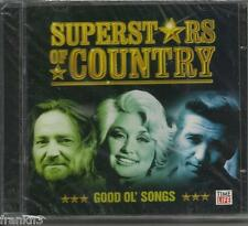 TIME LIFE Superstars of Country GOOD OL' SONGS, 2 CD BOX SET,NEW, FREE SHIP USA