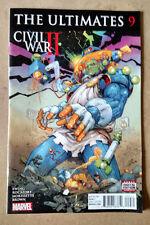 ULTIMATES #9 1ST PRINT MARVEL COMICS (2016) CIVIL WAR 2