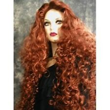SALE~GORGEOUS IRISH RED LONG XXL CURLY WIG WIGS