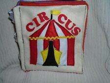Quiet Book   CIRCUS!!!  for Baby