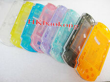 High Quality Transparent Full Housing Shell Case Faceplate for PSP 3000 Console