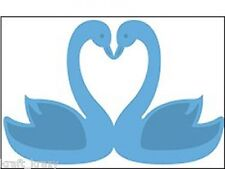 MARIANNE DESIGN CREATABLES DIE CUT EMBOSSING STENCIL WEDDING LOVE SWANS LR0239