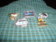 Vintage DAYTONA 500 Race Day Hat Lapel Pin Lot Of 5 Pins W/ No Backs !