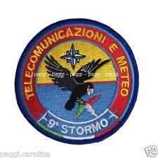Patch A301 Telecomunicazioni e meteo 9° stormo Toppa patch senza velcro