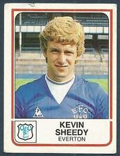 PANINI FOOTBALL 84-#082-EVERTON-KEVIN SHEEDY