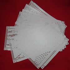 15 Lochkarten Brother KH260 Strickmaschine knitting machine punch cards original