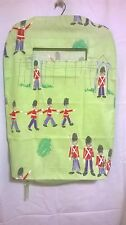 Large Hanging Laundry Bag With Zip (Little Soldiers)