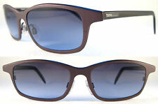 Rare Momo Design Lightweight Gents/señores Sunglasses Titanium, Brown/Black/Blue *