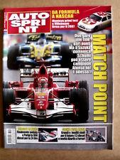 AUTOSPRINT n°40 2006 Michael Schumacher Fernando Alonso Giancarlo Fisichella P50