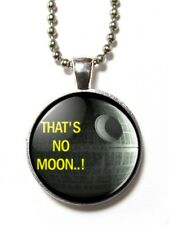 Magneclix magnetic pendant-Star Wars - That's no Moon