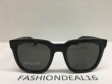 New GUCCI Authentic Shiny Black GG1133/S D28NR Sunglasses