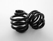"Solo Seat  Springs 2"" Heavy Duty Black Harley Bobber chopper Triumph Scooter"