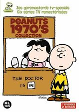 PEANUTS : 1970'S COLLECTION (Charlie Brown, Snoopy) -  DVD - PAL Region 2