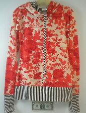 Hearts & Arrows Red Tesla Hooded Jacket - Size Small - NEW in cloth bag