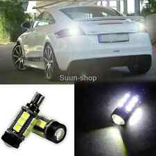 For Bmw E60 5s 2003-2010 2pcs White Error Free LED Reverse Back up Light Bulbs