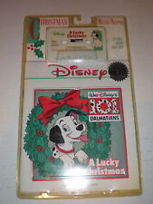 101 Dalmatians CASSETTE/BOOK NEW A Lucky Christmas
