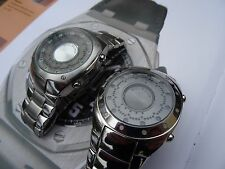 Stunning 2 X Zeon Tech Solsuno LED binary watches no sound may be other faults