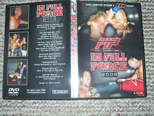 FIP In Full Force 2008 DVD Wrestling englisch wXw WWF WWE WCW AWA ECW ROH TNA